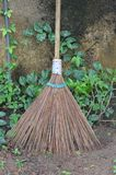 Broom. Use to clean the garden Stock Images