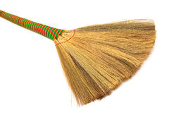 Broom close up Royalty Free Stock Photography