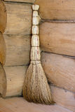 Broom in a corner Royalty Free Stock Photography