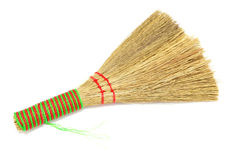 Broom. Dust broom dirty work housework royalty free stock image