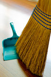 Broom and Dust Pan Royalty Free Stock Image
