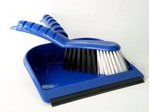 broom dustpan малым Стоковая Фотография