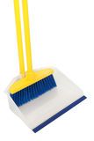 Broom and dustpan Stock Image