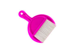 Broom and dustpan set Royalty Free Stock Image