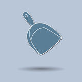 Broom & Dustpan Royalty Free Stock Images