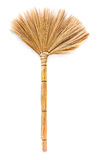 Broom. A grass broom for clean dust from floor Royalty Free Stock Image