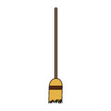 Broom icon image Stock Image