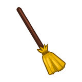 Broom  illustration Royalty Free Stock Photos