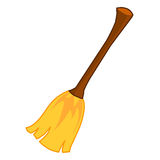Broom isolated illustration Royalty Free Stock Photo