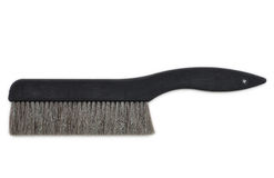 Broom isolated on white background Stock Photos