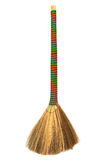 Broom with a long handle Royalty Free Stock Photos