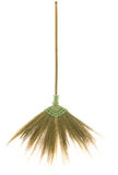 Broom made from dry grass Royalty Free Stock Photo