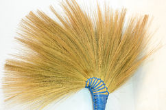 Broom. The broom made from grass Stock Photography