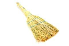 Broom made from sorghum environmentally Stock Photo