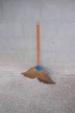 Broom. Object for clean home Stock Photography