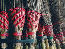 Broom. Product from nature in southeast asia, thailand Stock Photography