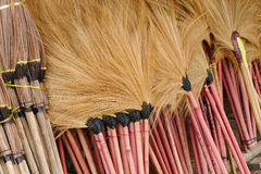 Broom for sale Royalty Free Stock Image