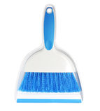 Broom and scoop isolated Stock Images