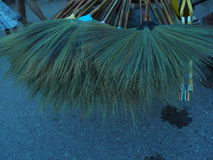 Broom for sell. Royalty Free Stock Photo