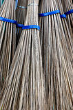 Broom stick. Detailed texture of a broom stick Royalty Free Stock Photo
