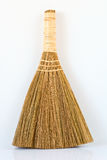 Broom straw on white background Royalty Free Stock Images