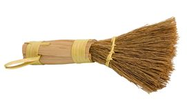 Broom sweeper Stock Photo