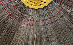Broom texture. Clean nature broom texture background Royalty Free Stock Images