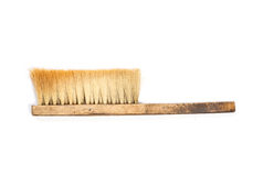 Broom on white background Stock Photography