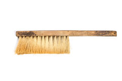 Broom on white background Royalty Free Stock Photography