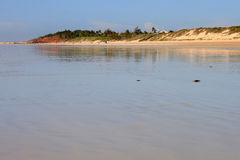 澳洲海滩broome电缆 免版税库存图片