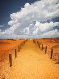 Broome Australië stock foto's