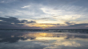 Broome Australien solnedgång Royaltyfria Bilder