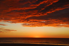 Broome Western Australia Sunset Stock Images
