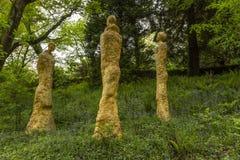 "Broomhill雕塑庭院Muddiford, Barnstaple,北德文区,英国†""2016年5月16日: 库存照片"
