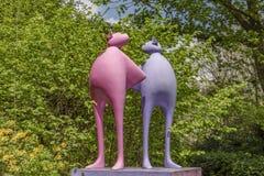 Free Broomhill Sculpture Gardens Muddiford, Barnstaple, North Devon , UK – May 16 2016: Royalty Free Stock Photography - 124635707