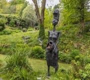 Free Broomhill Sculpture Gardens Muddiford, Barnstaple, North Devon , UK – May 16 2016: Royalty Free Stock Photos - 124636648