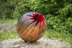 """Broomhill-Skulptur-Gärten Muddiford, Barnstaple, Nord-Devon, BRITISCHES †""""am 16. Mai 2016: lizenzfreies stockbild"""