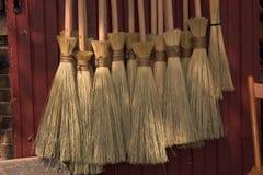 brooms чудодей s Стоковые Изображения