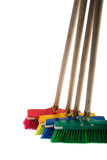 Brooms Royalty Free Stock Photo