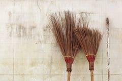 Brooms Stock Photos