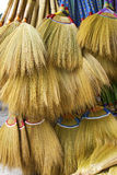 Brooms. Made from natural grass, Philippines Royalty Free Stock Image