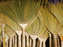 Brooms. Made from natural grass, Philippines Royalty Free Stock Images
