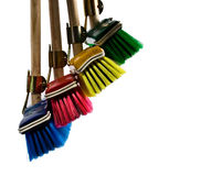 Brooms Royalty Free Stock Images