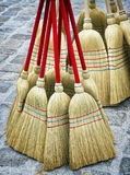 Brooms Stock Photography