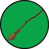 Brooms only Royalty Free Stock Images