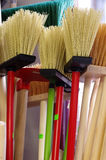 Brooms new Royalty Free Stock Image
