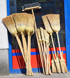 Brooms Royalty Free Stock Image