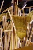Brooms Stock Photo