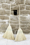 Brooms old Royalty Free Stock Images