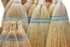 Brooms on the pile Stock Photography